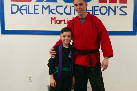 Life's Lessons: a parent reflects on the value of martial arts training.